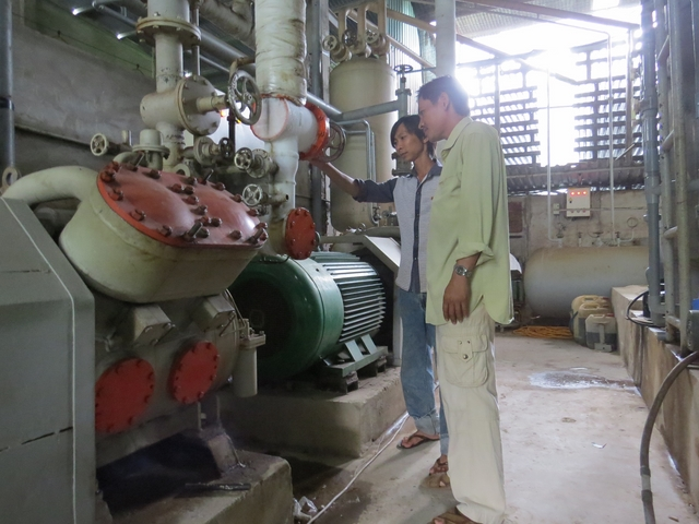 Một số doanh nghiệp sản xuất nước đá mạnh dạn đầu tư công nghệ hiện đại để tiết kiệm năng lượng
